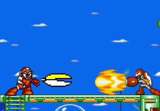 Cyborg Pac-Man vs. Nova cannon